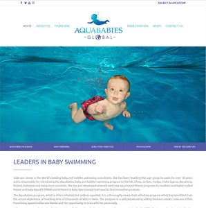 Aqua Babies Global Website