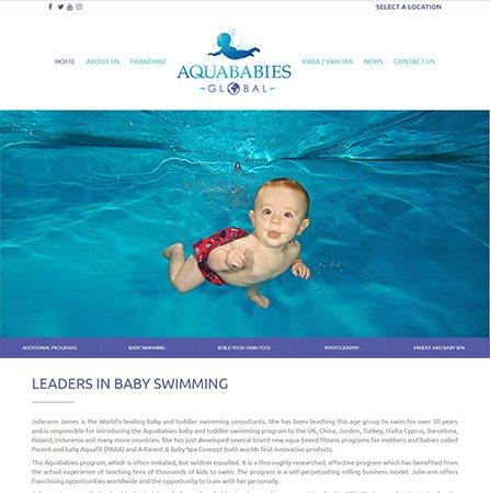 Aqua Babies Global Website