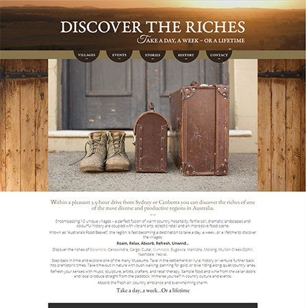 Discover the Riches Website