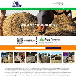 Gutzbusta Hay Nets Website