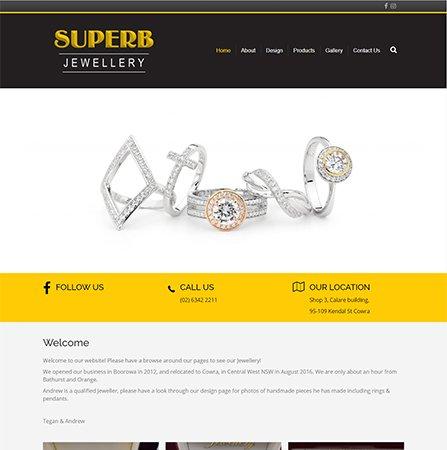 Superb Jewellery Website