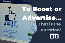 Boost or Advertise Ready Marketing Blog March 2021